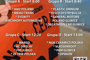 Turniej halowej piłki nożnej z okazji 10-lecia kadry futsalu w NGK Ceramics Polska